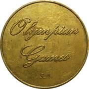 Bon de 50 Fb de Olympian Games – avers