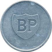 Jeton BP - Les cracks du sport belge (Herman van Springel) – revers