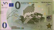 0 Mémo euro Belgium GP Spa-Francorchamps – avers