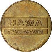 Jeton de lavage automobile - Hawa – avers