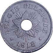 50 centimes - Albert Ier -Occupation – avers