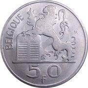 50 francs - Prince Charles - type Mercure (en français) -  revers