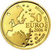 50 euros Juste Lipse -  avers