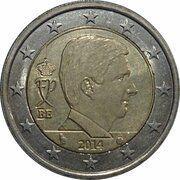 2 euros Philippe -  avers