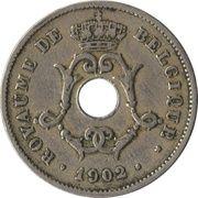 10 centimes - Léopold II - type Michaux (en français, petite date) -  avers