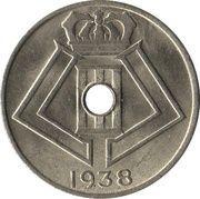5 centimes - Léopold III (Belgique-Belgie) – avers