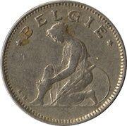 50 centimes - type Bonnetain (en néerlandais) -  avers