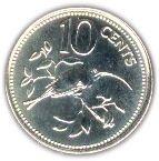 10 cents - Elizabeth II (BE) – revers