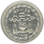 25 cents (BE) – avers