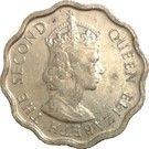 1 cent - Elizabeth II (1er effigie) – avers
