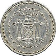 10 cents (Ermite à longue queue) – avers