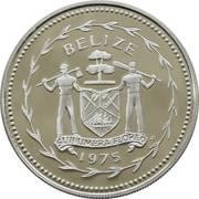 50 cents - Elizabeth II (coffret) – avers
