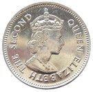 10 cents - Elizabeth II (1er effigie) – avers