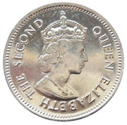 10 cents - Elizabeth II (1er effigie) – avers