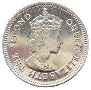 10 cents - Elizabeth II (1ère effigie) -  avers