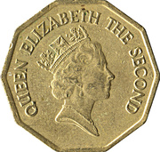 1 dollar - Elizabeth II (3eme effigie) -  avers