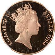500 Dollars - Elizabeth II (Royal Visit) – avers