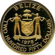 250 Dollars - Elizabeth II (Jaguar) – avers