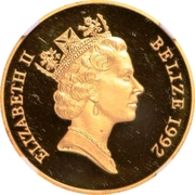 250 Dollars - Elizabeth II (El Alamein) – avers