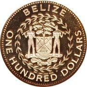 250 Dollars - Elizabeth II (Ocelot) – avers