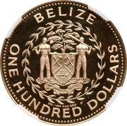 250 Dollars - Elizabeth II (White-tailed Savannah deer) – avers