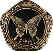 100 Dollars - Elizabeth II (Yellow Swallowtail Butterfly) – revers