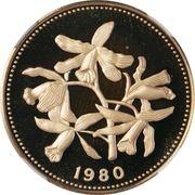 100 Dollars - Elizabeth II (Orchids) – revers