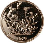 100 Dollars - Elizabeth II (Poisson-ange royal) – revers