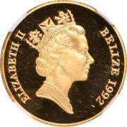 50 Dollars - Elizabeth II (Battle of El Alamein) – avers