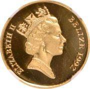 25 Dollars - Elizabeth II (50ème anniversaire de la bataille d'El Alamein) – avers