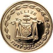 50 Dollars - Elizabeth II (Hummingbird) – avers