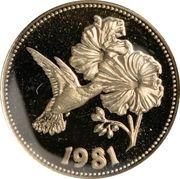 50 Dollars - Elizabeth II (Hummingbird) – revers