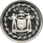 50 cents - Elizabeth II (Frégates ; Argent) – avers