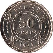 50 cents - Elizabeth II (1ère effigie) – revers