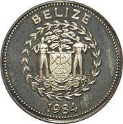 25 Cents - Elizabeth II (Blue-crowned Motmot) – avers