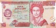 5 Dollars -  avers