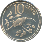 10 cents - Elizabeth II (coffret) – revers