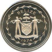 25 cents - Elizabeth II (coffret) – avers
