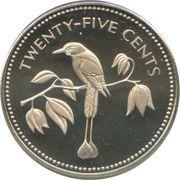 25 cents - Elizabeth II (coffret) – revers
