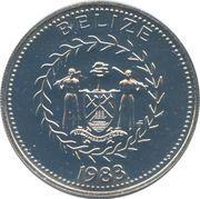 50 Cents - Elizabeth II (Frégates) – avers