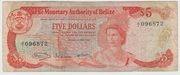 5 Dollars – avers