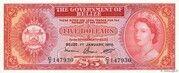 5 Dollars (Elizabeth II) – avers