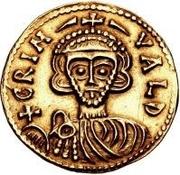 1 solidus Grimoald III – avers