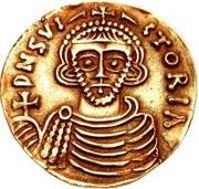 1 solidus Arichis II, Prince – avers