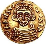 1 tremissis Arichis II, Prince – avers