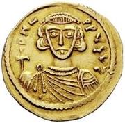 1 solidus Grégoire / Au nom de Léon III, 717-741 – avers
