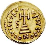 1 solidus Grégoire / Au nom de Léon III, 717-741 – revers