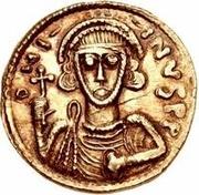 1 solidus Anonyme / Au nom de Justinien II, 705-711 – avers