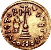 1 solidus Anonyme / Au nom de Justinien II, 705-711 – revers