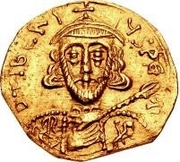 1 tremissis Gisolf I / Au nom de Tibère III, 698-705 – avers